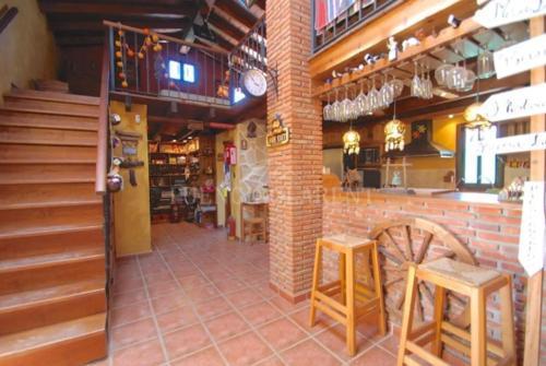 The lounge or bar area at Casa de Campo Relax