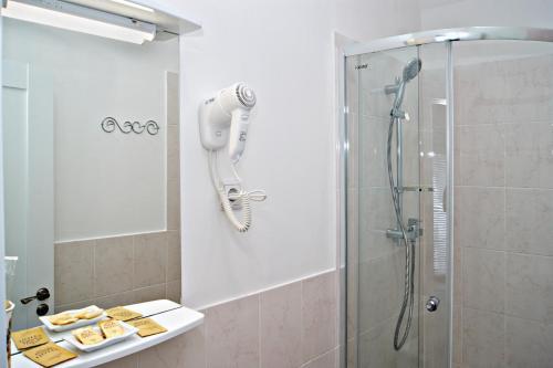 Ванная комната в Апельсин Отель на Дубровке