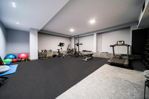 The fitness centre and/or fitness facilities at The Duke Boutique Suites