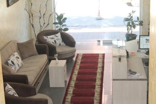 Гостиная зона в Hotel Elio