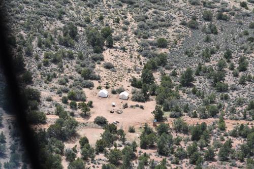 A bird's-eye view of Grand Canyon Western Ranch