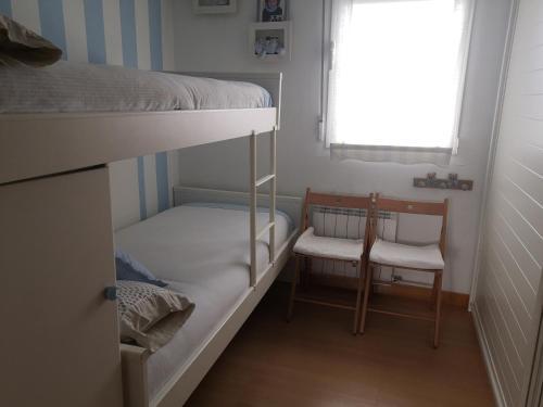 Litera o literas de una habitación en Atico en el centro de Vitoria