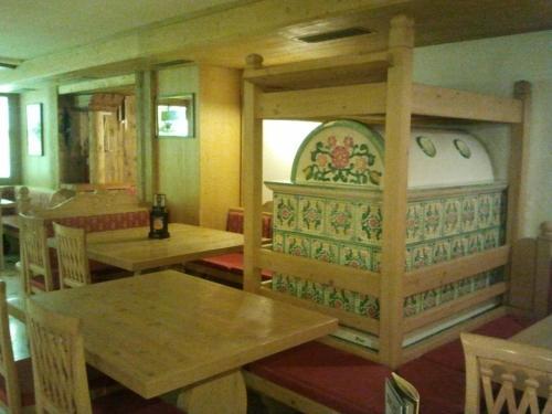 Zona pranzo nell'hotel