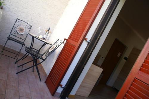 A balcony or terrace at Garni Villa Betty
