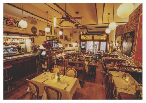 Restaurant ou autre lieu de restauration dans l'établissement Azurene Royal Hotel