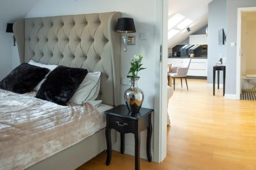 Część wypoczynkowa w obiekcie Moon River Apartments Gdansk Old Town