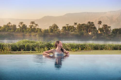 Het zwembad bij of vlak bij Jolie Ville Resort & Spa Kings Island Luxor