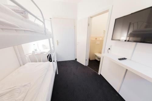A bunk bed or bunk beds in a room at dreams Düsseldorf