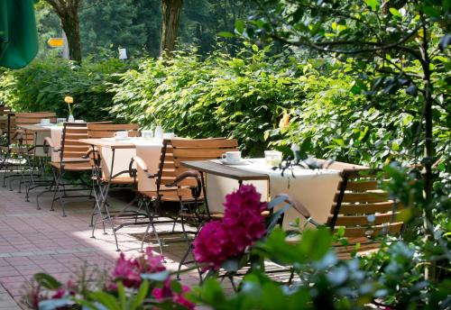 A restaurant or other place to eat at Wyndham Garden Potsdam