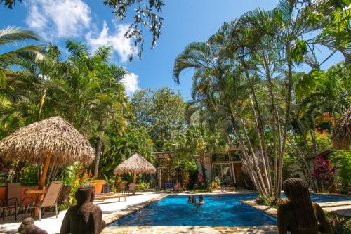 The swimming pool at or near Fuego Lodge