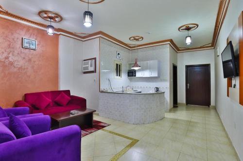 O saguão ou recepção de Flora Park Yanbu 1 Hotel Suites