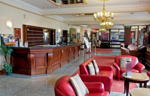 The lobby or reception area at Britannia Hotel, Stockport