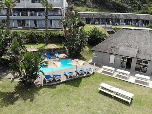 A view of the pool at Ocean View Hotel or nearby