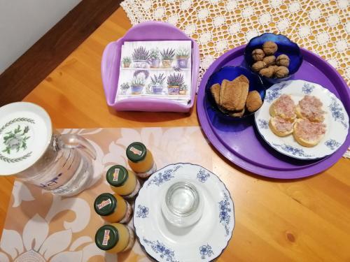 Colazione disponibile per gli ospiti di Amor di Lavanda