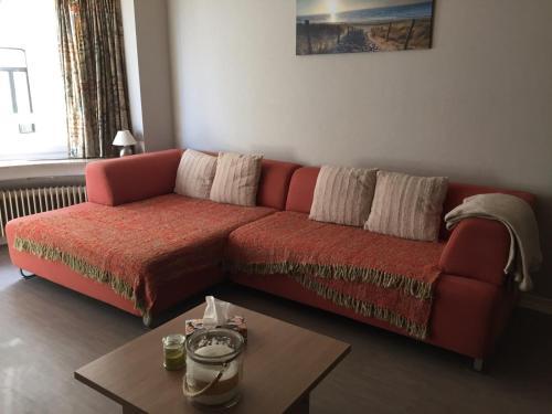Ein Sitzbereich in der Unterkunft Apartment Hertstraat