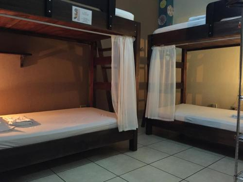 A bunk bed or bunk beds in a room at Casa de Lis Hotel & Tourist Info Centre