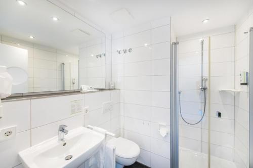 Een badkamer bij Hotel Cochemer Jung