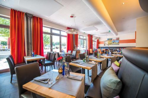 Een restaurant of ander eetgelegenheid bij Hotel Cochemer Jung