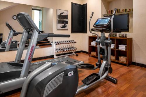 The fitness centre and/or fitness facilities at Hotel Palacio de Santa Paula, Autograph Collection