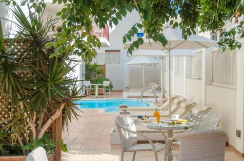 The swimming pool at or near Aeolis Boutique Hotel