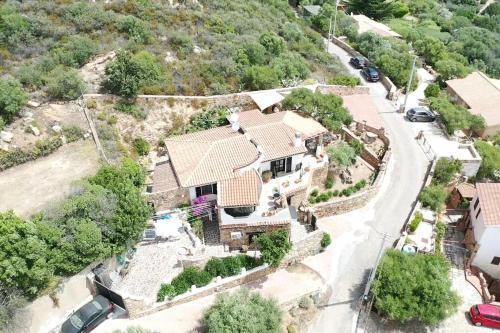 A bird's-eye view of B&B Villa Smeralda