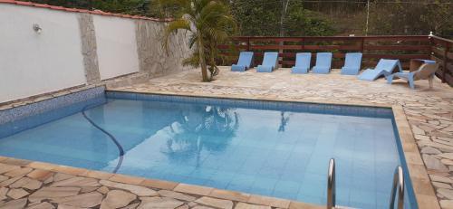 A piscina localizada em Pousada das Alamedas ou nos arredores