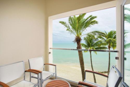 A balcony or terrace at Casa Marina Key West, A Waldorf Astoria Resort