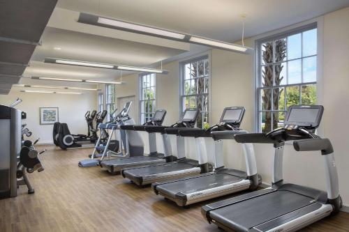 The fitness centre and/or fitness facilities at Casa Marina Key West, A Waldorf Astoria Resort