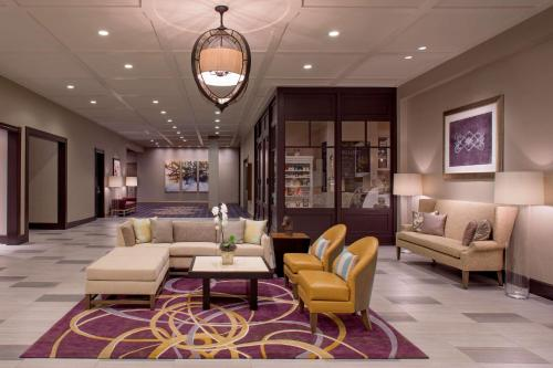 The lobby or reception area at Hyatt Centric French Quarter