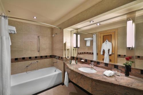 Um banheiro em Jeddah Hilton