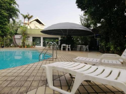 The swimming pool at or near Terrace Hotel
