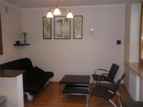 A seating area at Apartament Krynica Eland