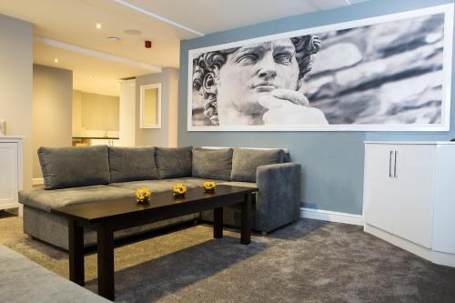 A seating area at The Townhouse Chester; BW Signature Collection