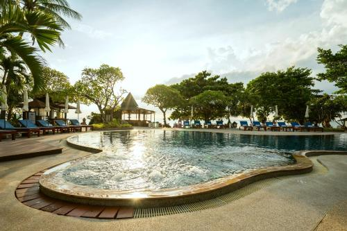 The swimming pool at or near Chaweng Buri Resort