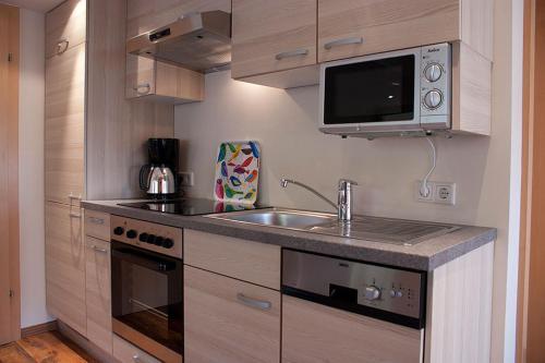 Küche/Küchenzeile in der Unterkunft Haus Anneliese
