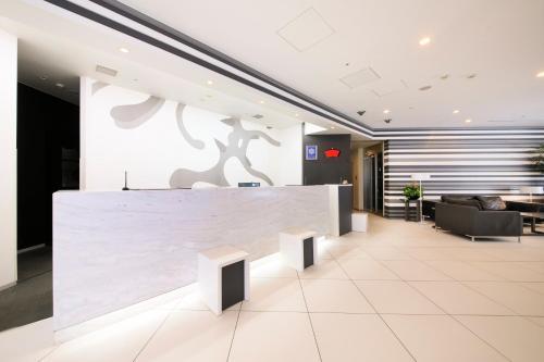 The lobby or reception area at Richmond Hotel Asakusa