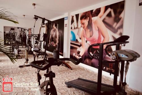 Gimnasio o instalaciones de fitness de Hotel Guajira Real