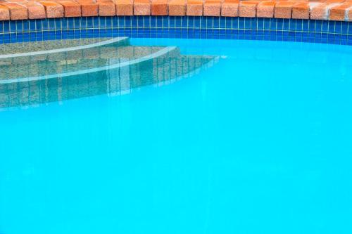 The swimming pool at or near Crescent Motel Taree