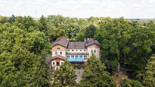 A bird's-eye view of Dworek Brodowo Restauracja Hotel Przyjęcia