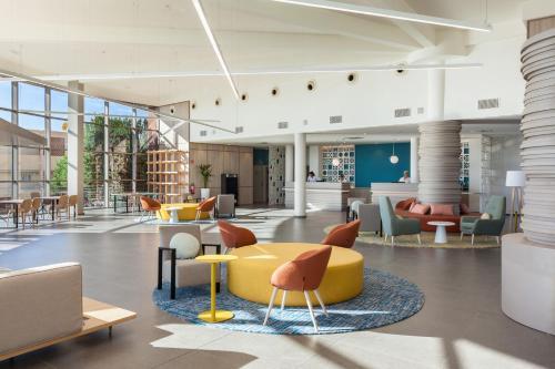 De lobby of receptie bij Abora Interclub Atlantic by Lopesan Hotels