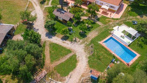 A bird's-eye view of Quinta da Saudade