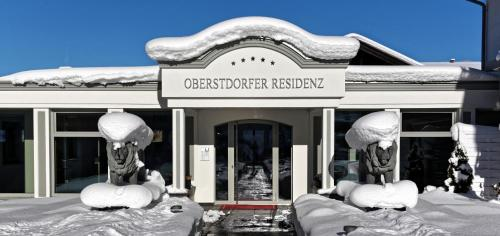 Oberstdorfer Residenz 1 im Winter
