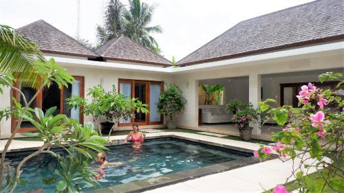 The swimming pool at or near Jivana Resort