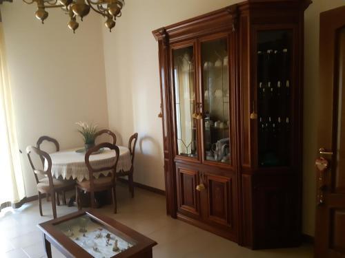 A seating area at A Casa di Anto e Dani
