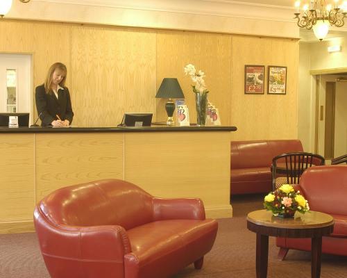 The lobby or reception area at Britannia Bournemouth Hotel
