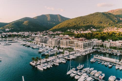 Regent Porto Montenegroの鳥瞰図