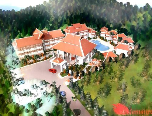 A bird's-eye view of Andamanee Boutique Resort