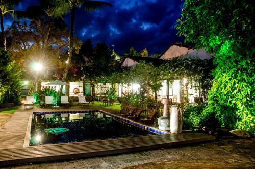 A piscina localizada em Pousada da Marquesa ou nos arredores