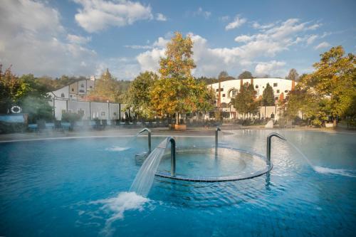 Der Swimmingpool an oder in der Nähe von Rogner Bad Blumau