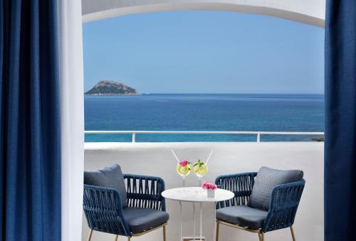 A balcony or terrace at VOI Colonna Village